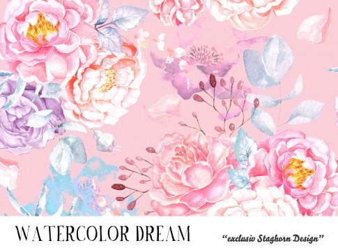 *Watercolor Dream* Bio Jersey *Party Girlies Serie* *Staghorn exklusiv* Eigenproduktion