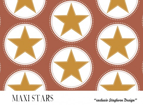 *Maxi Stars Kastanie* Bio Jersey *Fall Boys Serie* *Staghorn exklusiv* Eigenproduktion