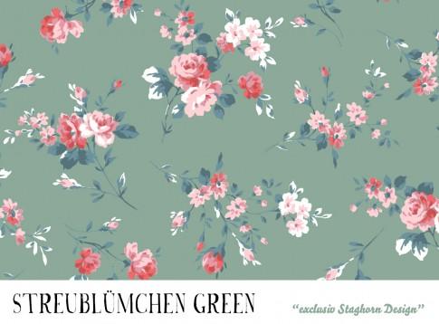 VORBESTELLUNG *Streublümchen Green* Bio Jersey *Girlie Love Serie* *Staghorn exklusiv* Eigenprodukti