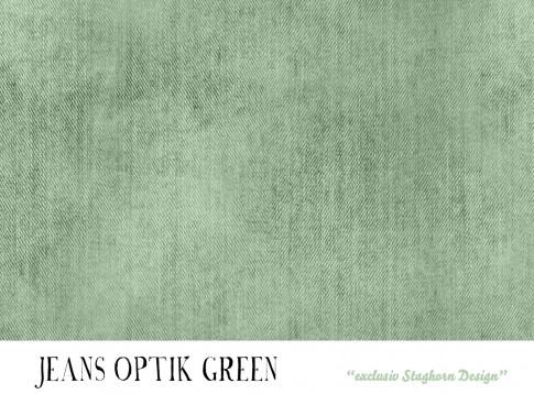 VORBESTELLUNG *Jeans Optik Green* Bio Jersey *Girlie Love Serie* *Staghorn exklusiv* Eigenproduktion