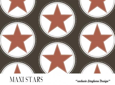 *Maxi Stars Dark Brown* Bio Jersey *Fall Boys Serie* *Staghorn exklusiv* Eigenproduktion