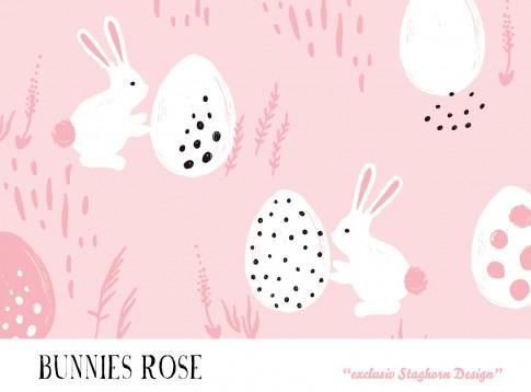 *Bunnies Rose* Bio Jersey *Oster Girlies Serie*