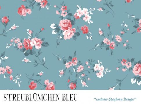 VORBESTELLUNG *Streublümchen Bleu* Bio Jersey *Girlie Love Serie* *Staghorn exklusiv* Eigenproduktio