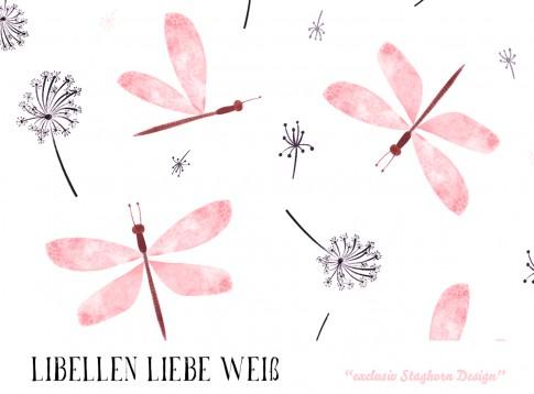 *Libellen Liebe* Bio Jersey *Oster Girlies Serie*