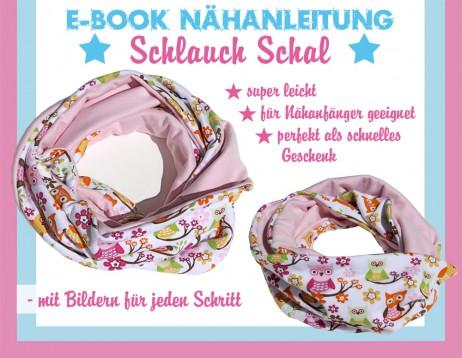 Fix Nähanleitung Schlauchschal - E-Book