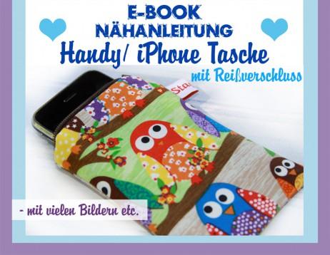 Fix Nähanleitung Handytasche / iPhonetasche - E-Book