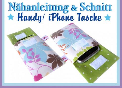 Handytasche iPhonetasche Schnitt & Nähanleitung - E-Book