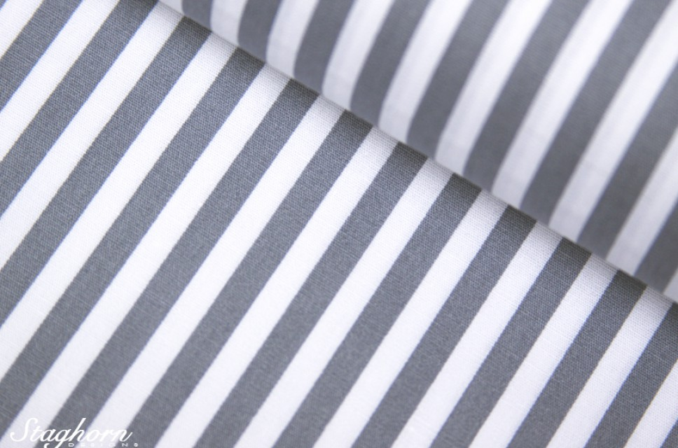 streifen stoff grau wei baumwollstoff 0 5cm streifen herzen stoffe staghorn. Black Bedroom Furniture Sets. Home Design Ideas