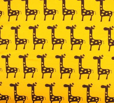Giraffen Jersey gelb braun Vicente Giraffen