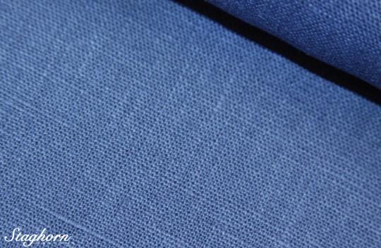 Leinenstoff Blau 100% Leinen