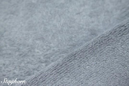 Wellness Fleece uni mittelgrau