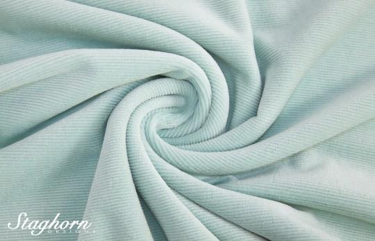 Hochwertiger Cord Jersey Pastellblau *brandneu* - elastisch - Oeketex