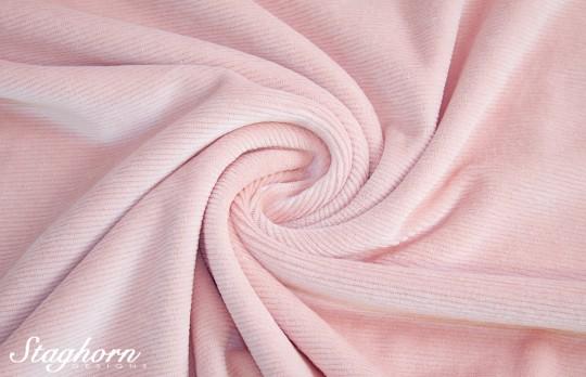 Hochwertiger Cord Jersey rose *brandneu* - elastisch - Oeketex