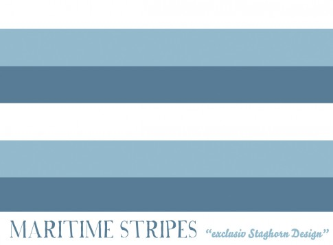 Maritime Stripes Bio-Jersey