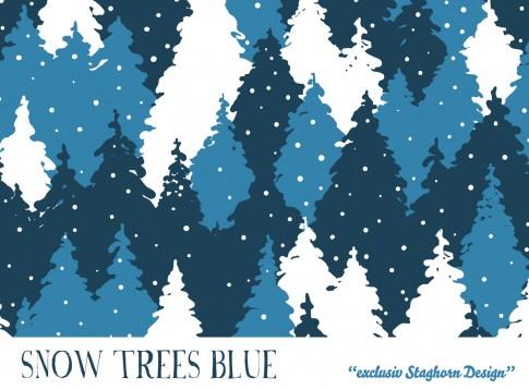 *Trees Blue* Bio Sweat *Winter Jungs*
