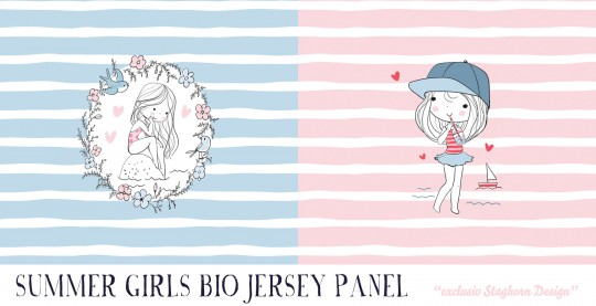 *Summer Girls Panel* Bio Jersey *Summer Girls Serie*