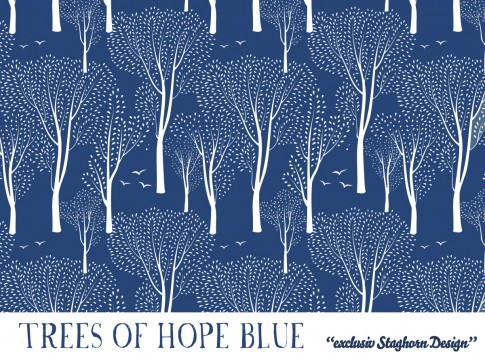 *Trees of Hope* Bio Sweat rauchblau