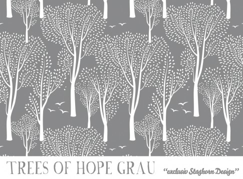 *Trees of Hope* Bio Sweat grau