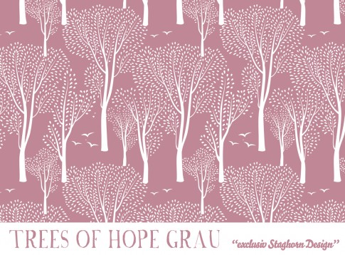 *Trees of Hope* Bio Sweat old rose