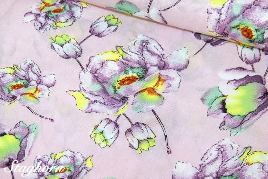 Leichte Viskose *Magnolia* rosa - Oeketex - Blusenstoff