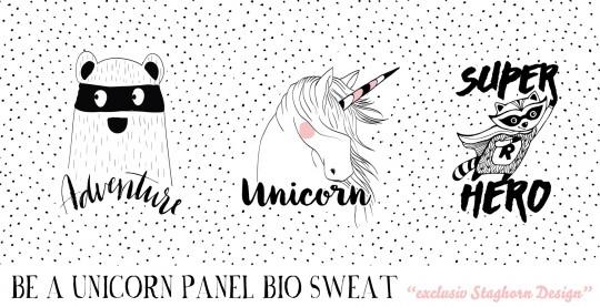 *Be a unicorn* Panel Bio Sweat