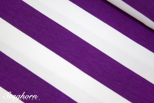 Big Stripes Bio-Jersey pflaume