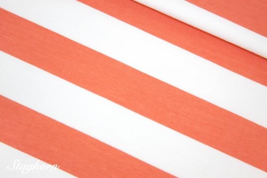 Big Stripes Bio-Jersey sweet coral