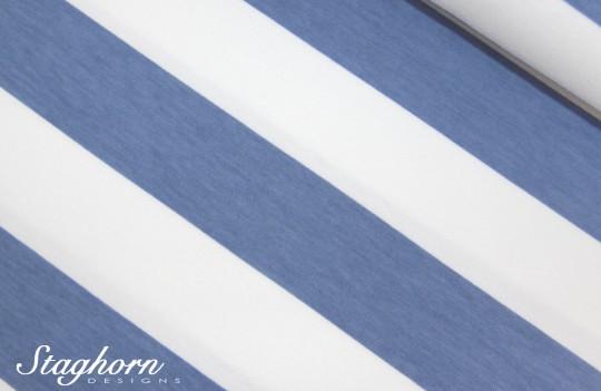 Big Stripes Bio-Jersey rauchblau