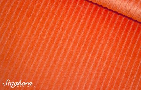 Breitcord orange - Baumwoll Cord uni - Oeketex