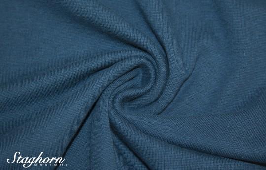 *Brandneu* uni admiral blau Feinstrick Bündchen 70cm breit *Top Preis*