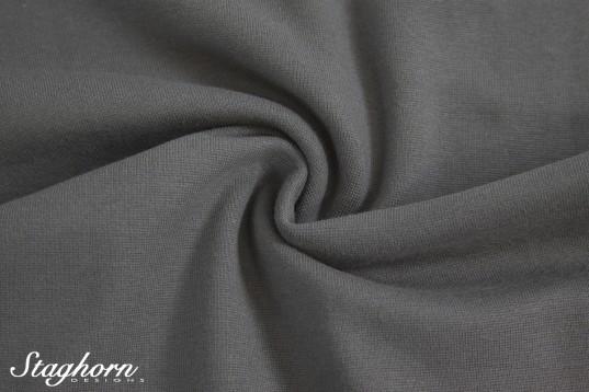 *Brandneu* uni grau Feinstrick Bündchen 70cm breit *Top Preis*