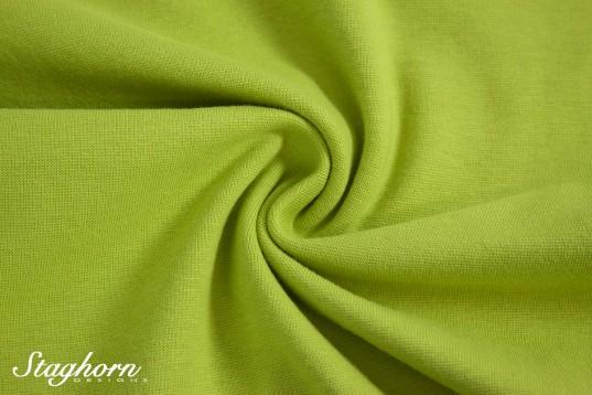 *Brandneu* uni hellgrün Feinstrick Bündchen 70cm breit *Top Preis*