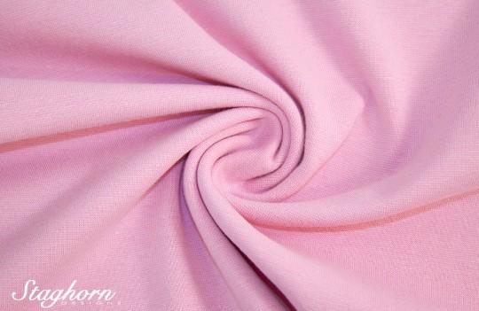 *Brandneu* uni rosa Feinstrick Bündchen 70cm breit *Top Preis*