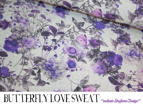 Butterfly Love Sweat *lila*
