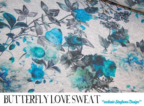 Butterfly Love Sweat *türkis*