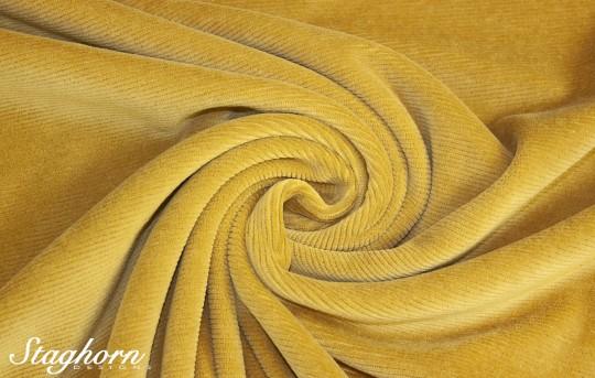 Hochwertiger Cord Jersey senf *brandneu* - elastisch - Oeketex