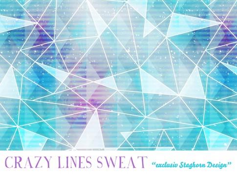Crazy Lines Bio Sweat minty