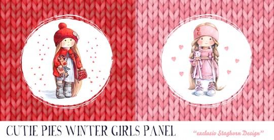 Cutie Pie Winter Girls Panel Bio Sweat *Cutie Pie Winter Girls*