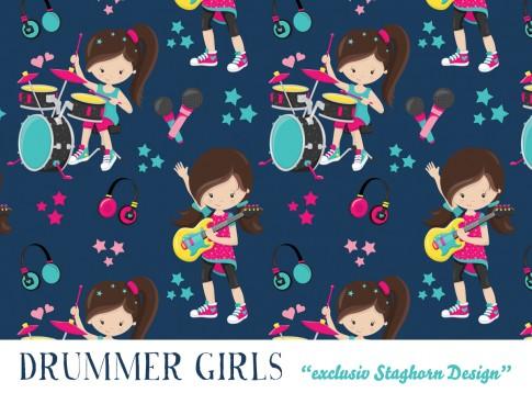 Drummer Girls Jersey navy