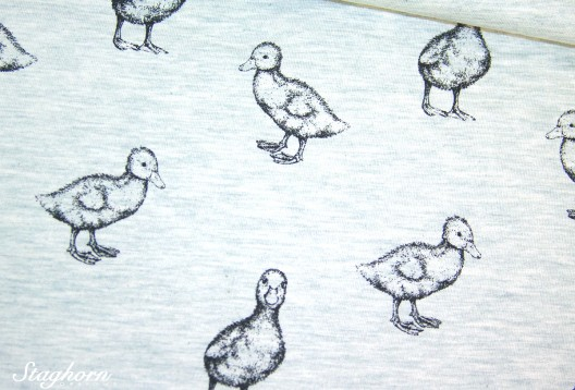 Stenzo Sweat Enten mint *ducky ducks* - Oeketex - elastisch