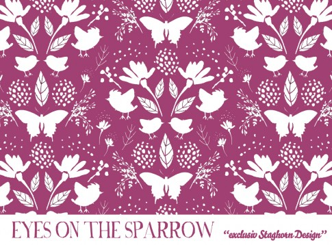 Eyes on the Sparrow Sweat *helles amaranth* Bio-Sweat