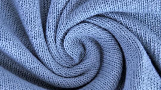 Feinstrick *hellblau* *brandneu* - wunderschöner Baumwollstrick