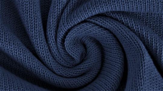 Feinstrick *navy* *brandneu* - wunderschöner Baumwollstrick