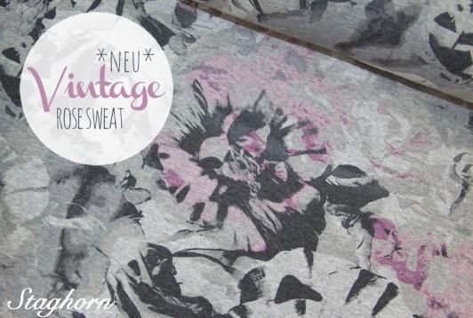 Vintage Rose Sweat *rose grey*
