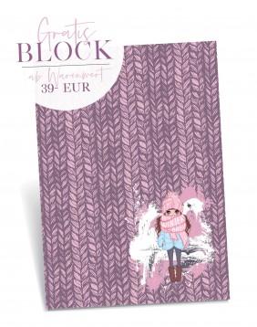 1 exclusiver Block *It's Winter Baby*