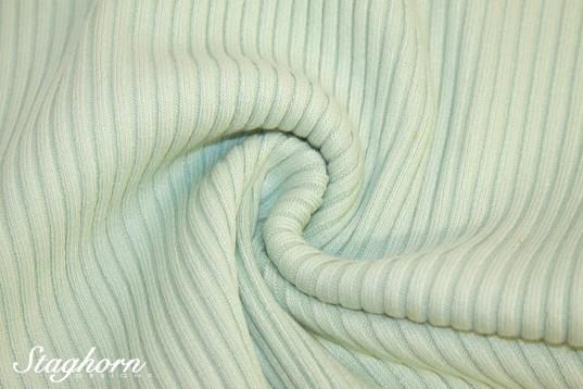 Grobstrick Bündchen mint *Bündchen De Luxe* 70-74cm breit - elastisch