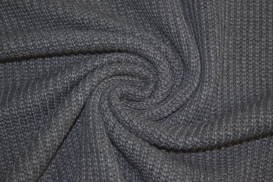 Grobstrick Vintage Style *grau meliert* *brandneu* - Baumwollstrick