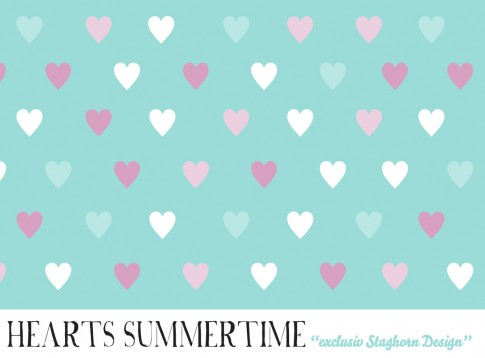 *Hearts Summer Time* Bio Jersey *Summer Time Unicorns Serie*