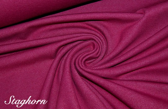 Hochwertiger Jeans Jersey Berry *neu* - elastisch - Oeketex