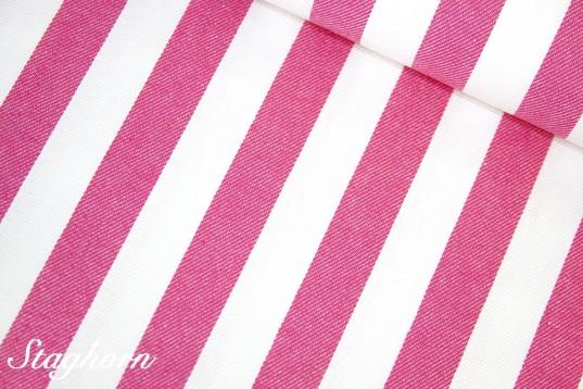 Super Sonderpreis Jeans Streifen *pink* 2cm